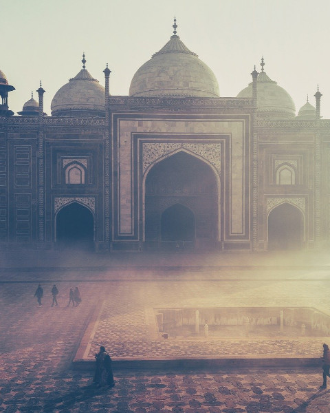 Taj Mahal, Inde © Free-Photos