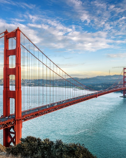 Golden Gate, San Francisco, Californie, USA