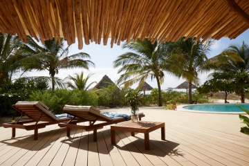 Terrasse lounge, White Sand Luxury Villas & Spa, Zanzibar