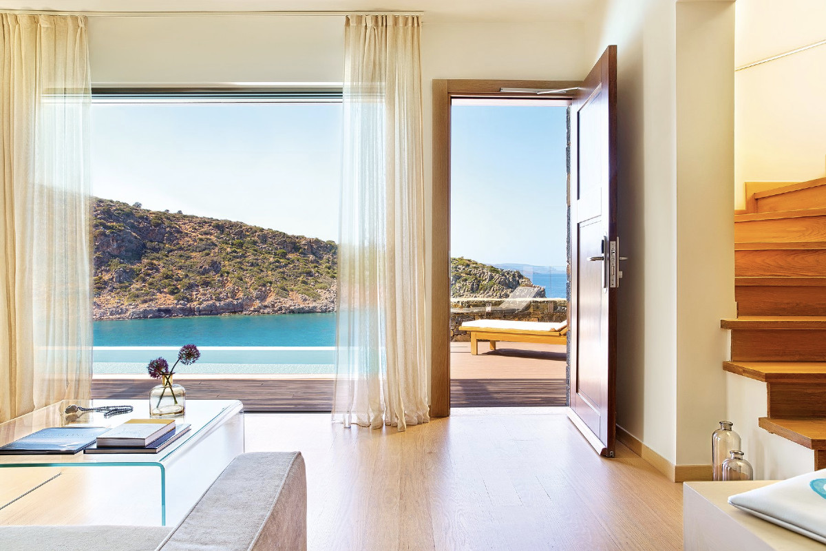 Villa vue mer, Daios Cove Luxury Resort & Villas, Crète, Grèce